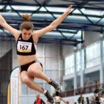 Tamina Boppert bei Deutschen Hallenmeisterschaften