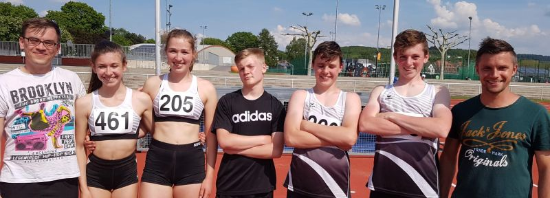 ASC-Athleten äußerst erfolgreich bei Regionsmeisterschaften